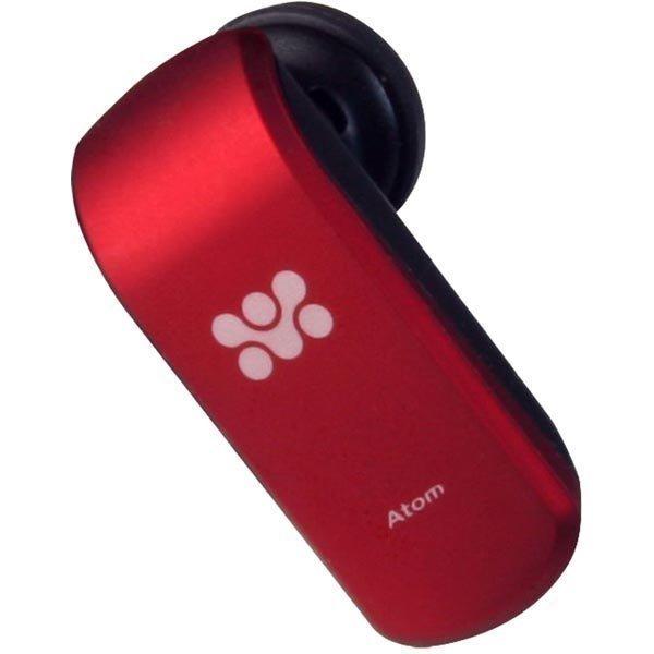 Promate Atom - Bluetooth-kuulokkeet 2x puhelinta punaiset