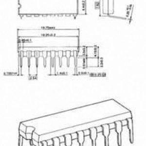 Push-pull four kanava driver diodis