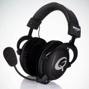 QPAD QH-85 PRO GAMING PREMIUM HEADSET Black