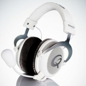 QPAD QH-85 PRO GAMING PREMIUM HEADSET White