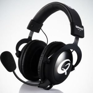 QPAD QH-90 Pro Gaming Hi-Fi Headset Black Closed