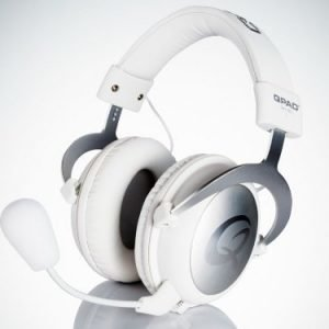 QPAD QH-90 Pro Gaming Hi-Fi Headset White Closed