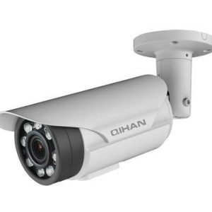 "Qihan QH-NW551DO-P verkkovalvontakamera 1/3 CMOS 2 8-12mm variofokal linssi 2688x1520 tukee H.264 IR 5-40m IP67 PoE harmaa"""