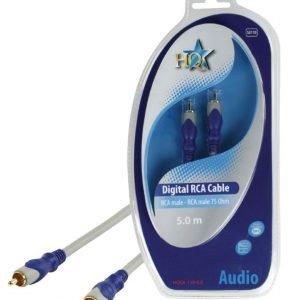 RCA uros - RCA uros 75 Ohm johto 5.00 m
