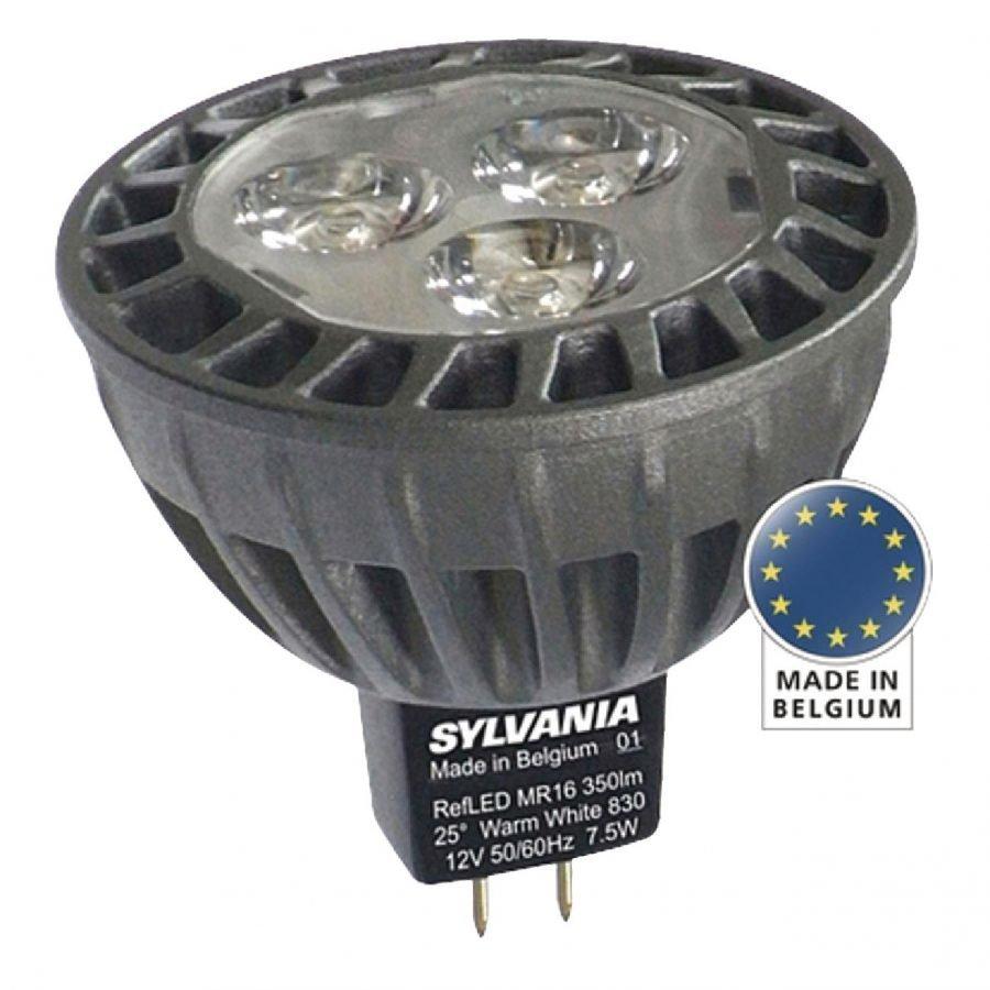RefLED Coolfit LED-lamppu MR16 7W 345lm 827 40°