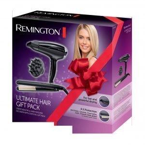 Remington Suoristusrauta + Kuivaaja Lahjapakkaus