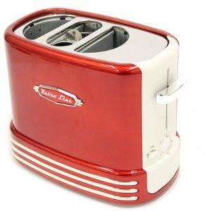 Retro Line Hot Dog Popup Paahdin Punainen / Valkoinen 650 W