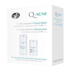 Rio Q Acne Facial Wash & Moisturiser Hoitotuotepakkaus