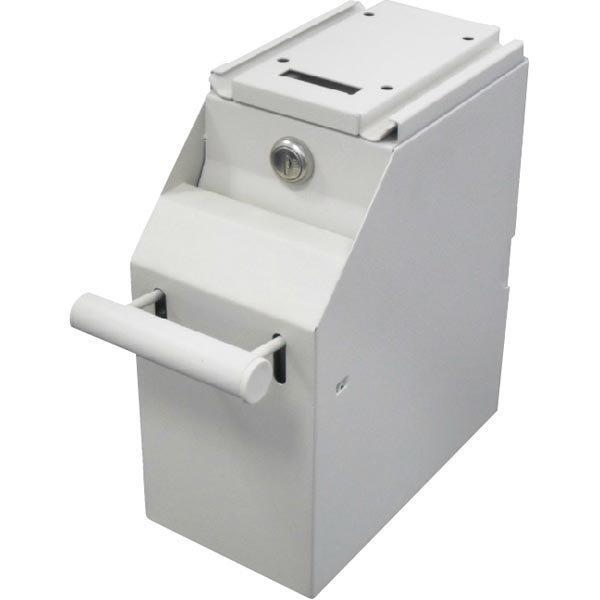 Säilytyslaatikko seteleille 4 avainta kiinnikkeet beige