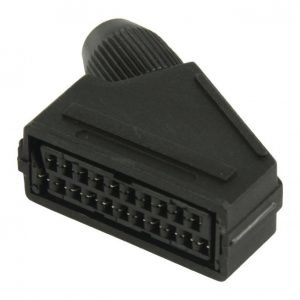 SCART connector SCART female black