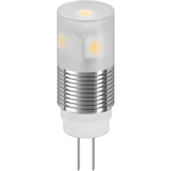 SMD LED-lamppu G4 sauva lämpimänvalkoinen valo 1 6W 12V DC 125Lm