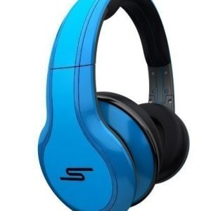 SMS Audio Street by 50 Cent Blue Wired Fullsize