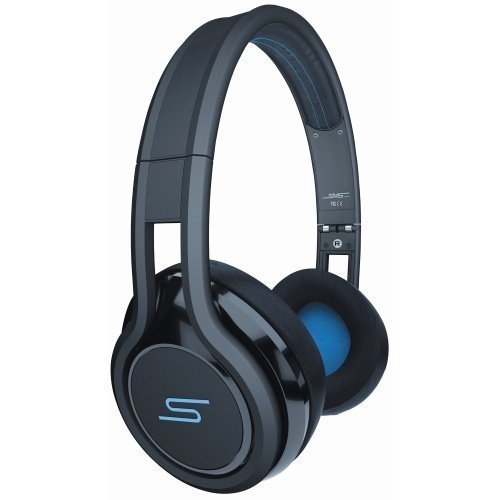SMS Audio Street by 50 Cent Wired Ear-pad with Mic1 Black / Blue