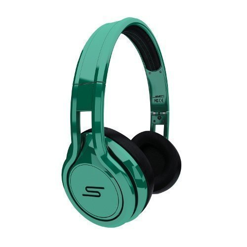 SMS Audio Street by 50 Cent Wired Ear-pad with Mic1 Green