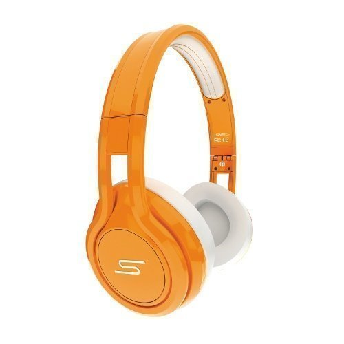 SMS Audio Street by 50 Cent Wired Ear-pad with Mic1 Orange