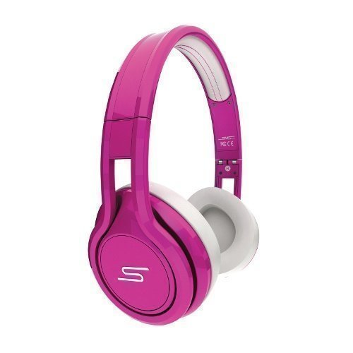 SMS Audio Street by 50 Cent Wired Ear-pad with Mic1 Pink