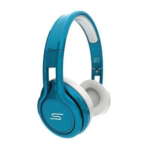 SMS Audio Street by 50 Cent Wired Ear-pad with Mic1 Teal