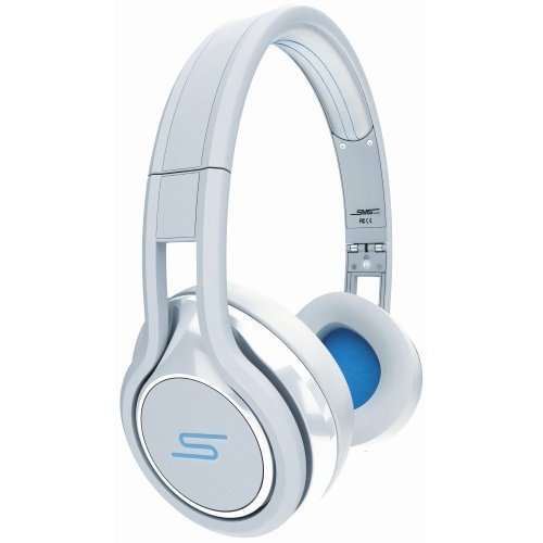 SMS Audio Street by 50 Cent Wired Ear-pad with Mic1 White