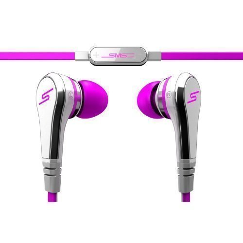 SMS Audio Street by 50 Cent Wired In-Ear with Mic1 Pink / Silver / Grey