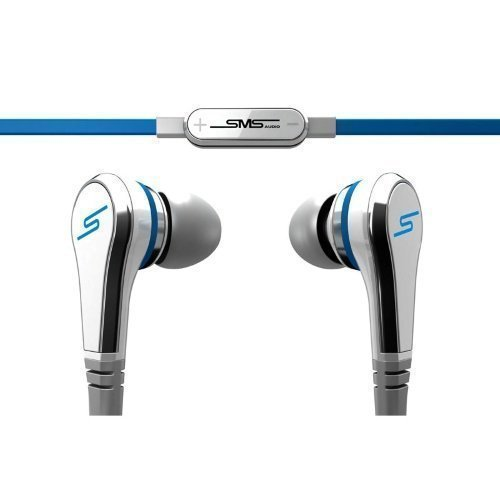 SMS Audio Street by 50 Cent Wired In-Ear with Mic1 White / Blue