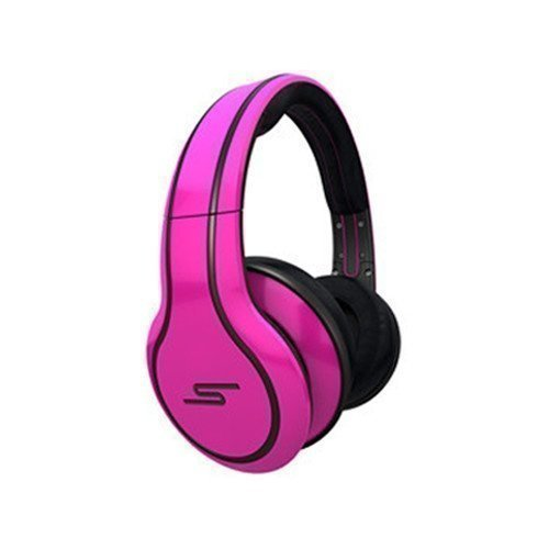SMS Audio Street by 50 Cent Wired Limited Edition FullSize with Mic1 Pink