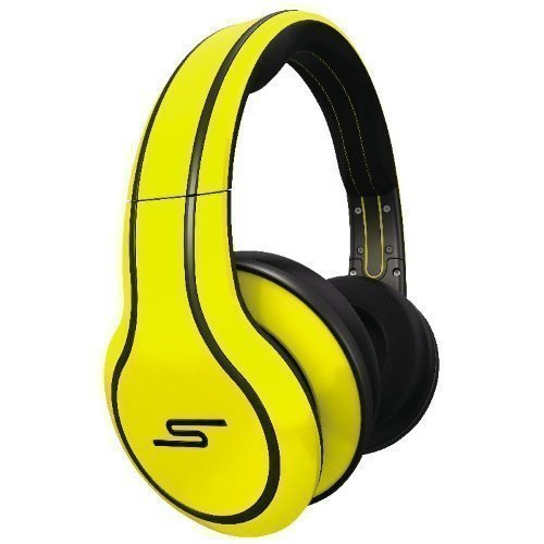 SMS Audio Street by 50 Cent Yellow Limited Edition Wired Fullsize