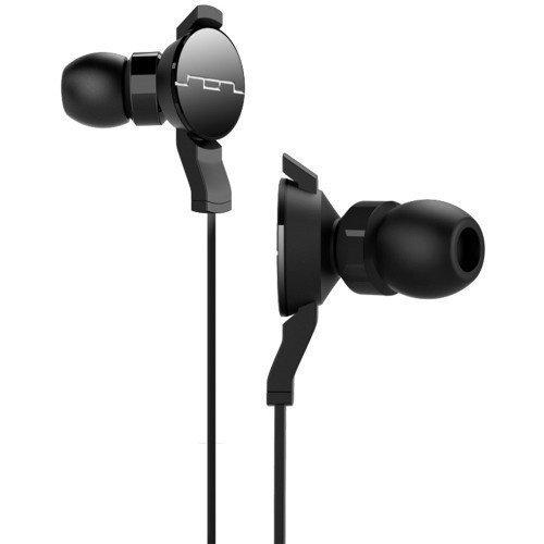 SOL REPUBLIC Amps Black Single-Button In-ear
