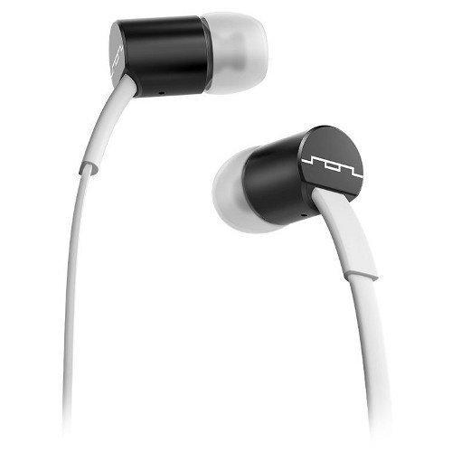 SOL REPUBLIC Jax White and Black In-ear
