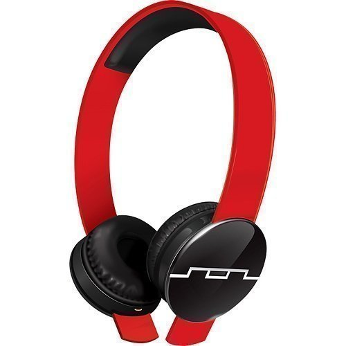 SOL REPUBLIC Tracks Ear-pad with Mic3 Red