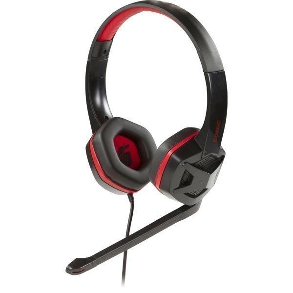 SOMIC G2 suljettu kuuloke 40mm elementti 32Ohm 3 5mm musta/pun