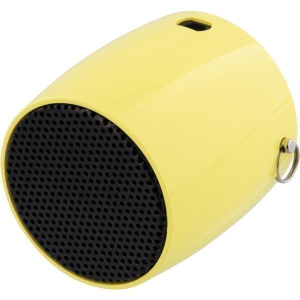 STREETZ Mini Bluetooth-kaiutin 300mAh Li-Ion akku 3w keltainen
