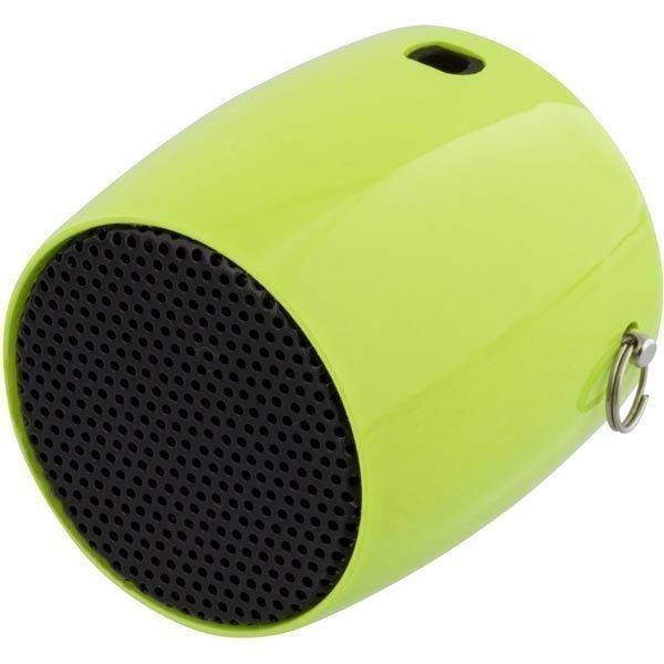 STREETZ Mini Bluetooth-kaiutin 300mAh Li-Ion akku 3w vihreä
