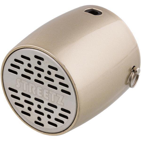STREETZ Mini Bluetooth-kaiutin 300mAh Li-Ioni akku 3w kulta