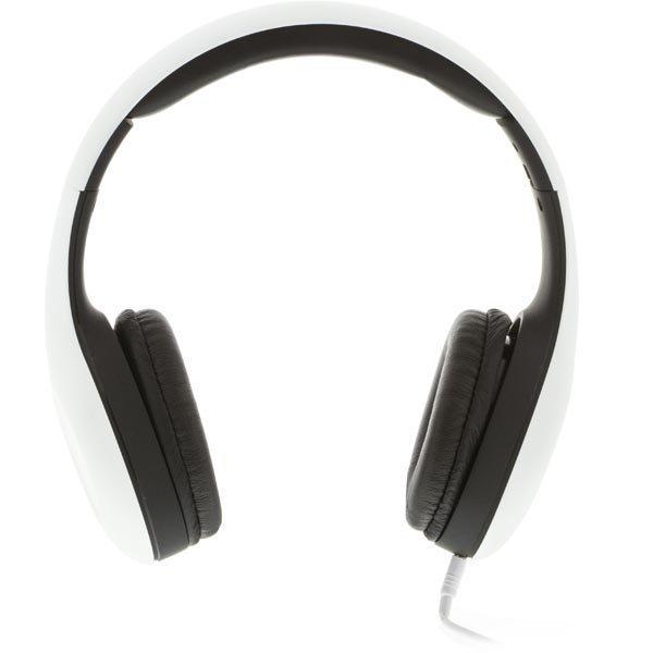 STREETZ headset iPhonelle mikrofoni vaihdettava kaapeli 1 5m valk