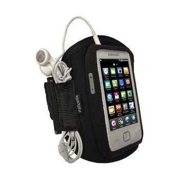 Samsung Galaxy Player 50 iGadgitz Käsivarsikotelo Musta