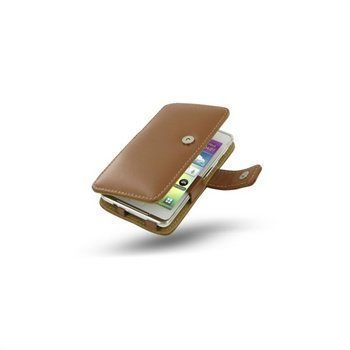 Samsung Galaxy S WiFi 4.2 PDair Leather Case Brown