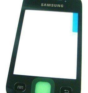 Samsung Galaxy Y S5360 GT-S5360 Digitizer kosketuspaneeli - Musta