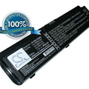Samsung NP-N310 akku 6600 mAh Musta