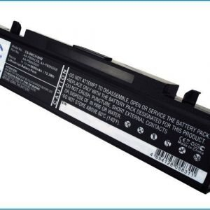 Samsung Q318 R510 R468 R710 R522 akku 6600 mAh Musta