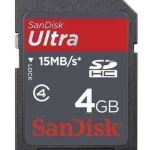 SanDisk SDHC Ultra Class 4 4GB