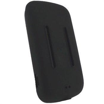 SanDisk Sansa Fuze Plus iGadgitz Silikonikotelo Musta