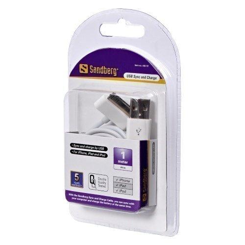 Sandberg USB Sync/Charge 0.9m