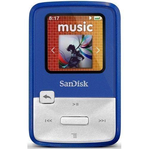 Sandisk Sansa Clip Zip 4GB Blue