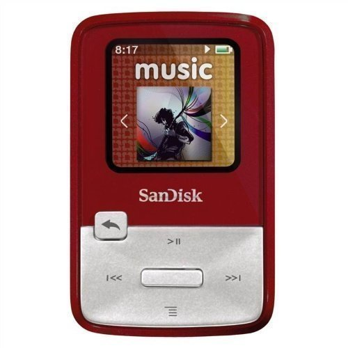 Sandisk Sansa Clip Zip 4GB Red