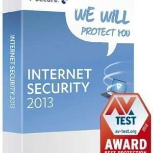 Security F-Secure Internet Security (1year/3PC)