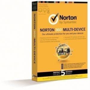 Security Symantec NORTON 360 MULTI DEVICE 1.0 ND 1 USER 5LIC ATTACH