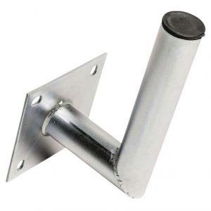Seinäkiinnike galvanoitua terästä L-malli 150/48mm