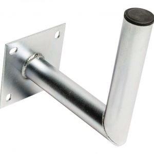 Seinäkiinnike galvanoitua terästä L-malli 250/48mm