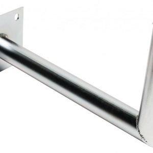 Seinäkiinnike galvanoitua terästä L-malli 450/48mm