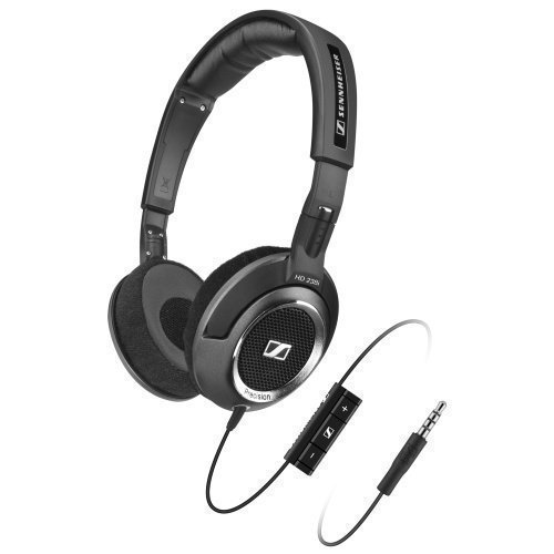 Sennheiser HD218i On-Ear with Mic3 for iPhone Black / Silver